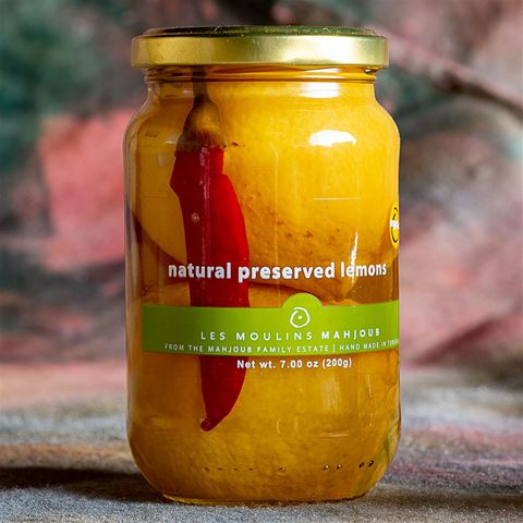 Natural Preserved Lemons - Organic