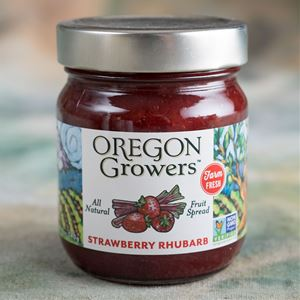 Oregon Growers Strawberry Rhubarb Jam