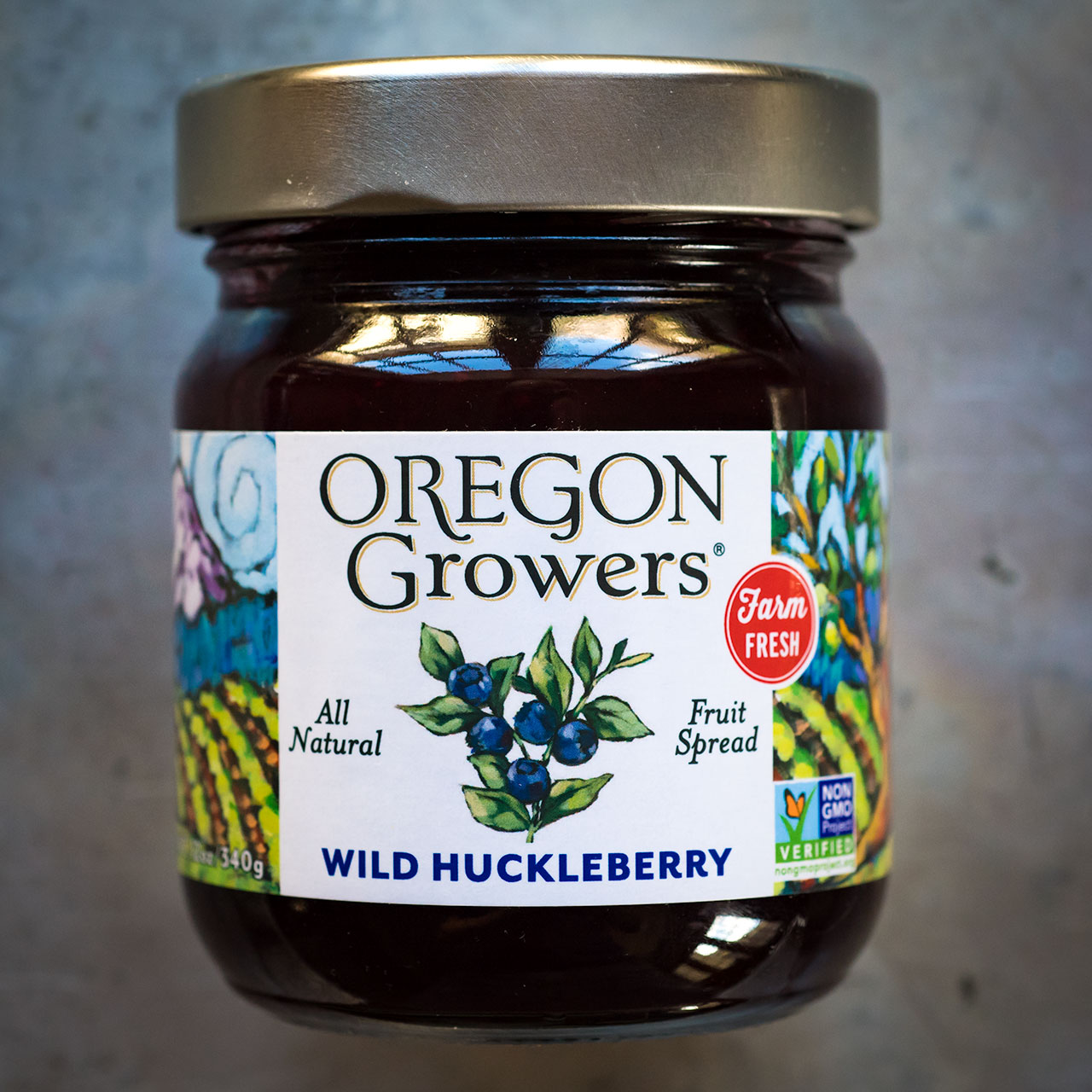 Wild Huckleberry Spread (Oregon)