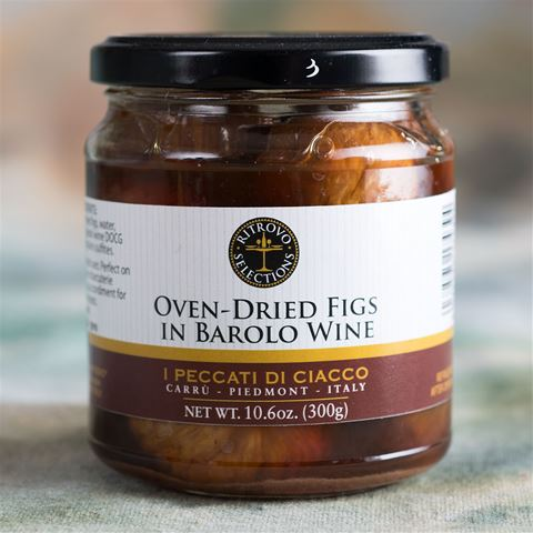 Oven-Dried Figs in Barolo Wine