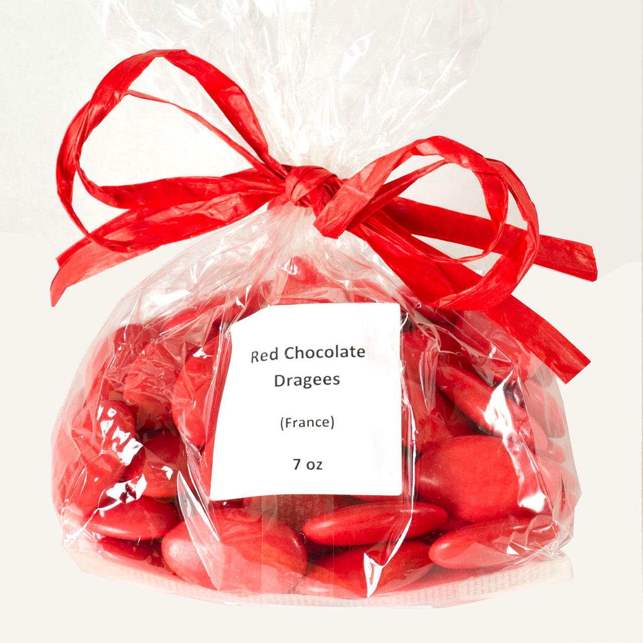 Pecou Red Chocolate Dragees