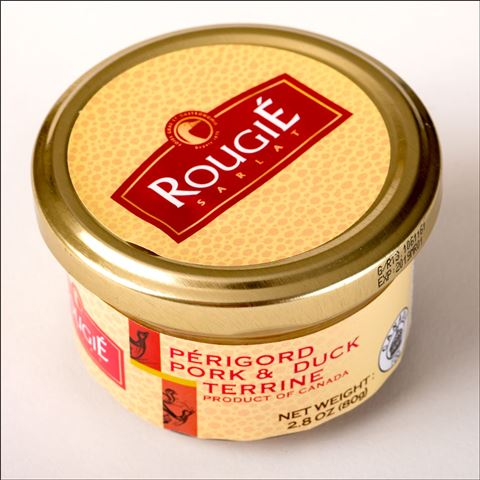 Rougie Pork and Duck Pate with 20 percent Foie Gras