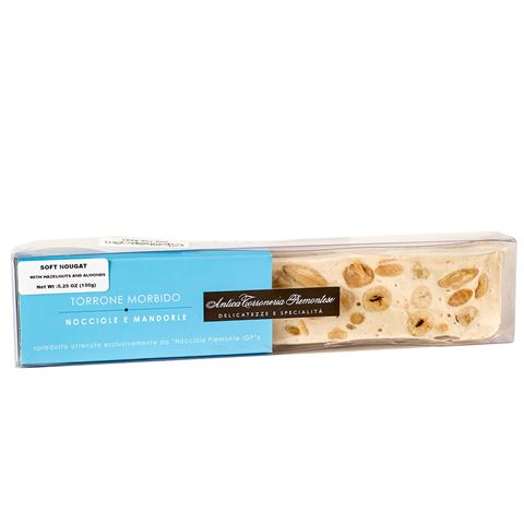 Antica Soft Piemontese Torrone with Hazelnuts and Almonds
