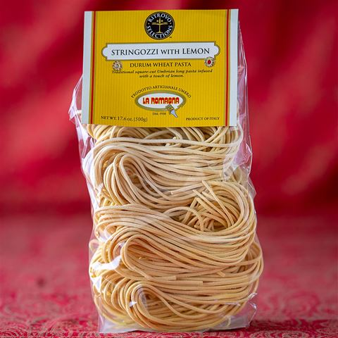 Stringozzi Pasta with Lemon
