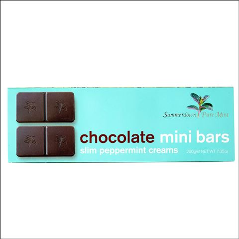 Summerdown Mint Chocolate Mini Bars