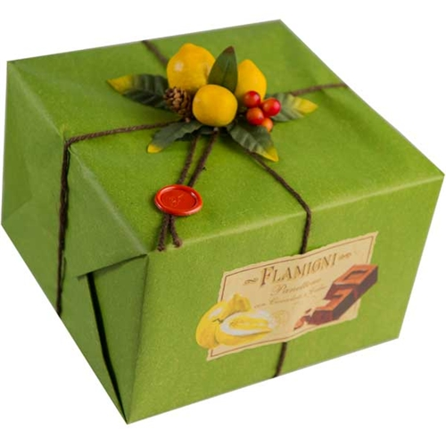 Flamigni Citron and Chocolate Panettone - 1kg