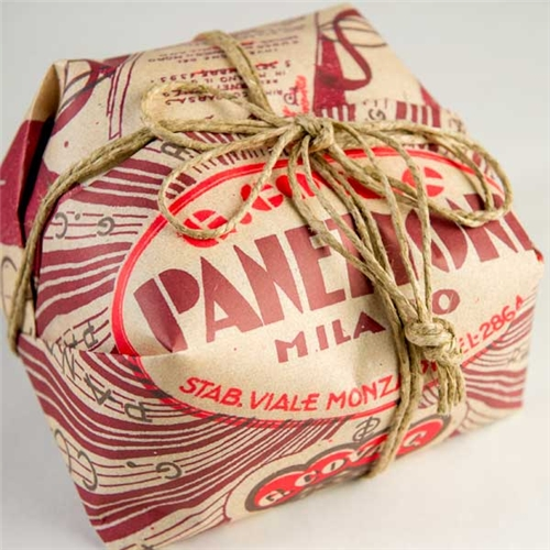 G. Cova Panettone Classico - Traditional Red Wrap