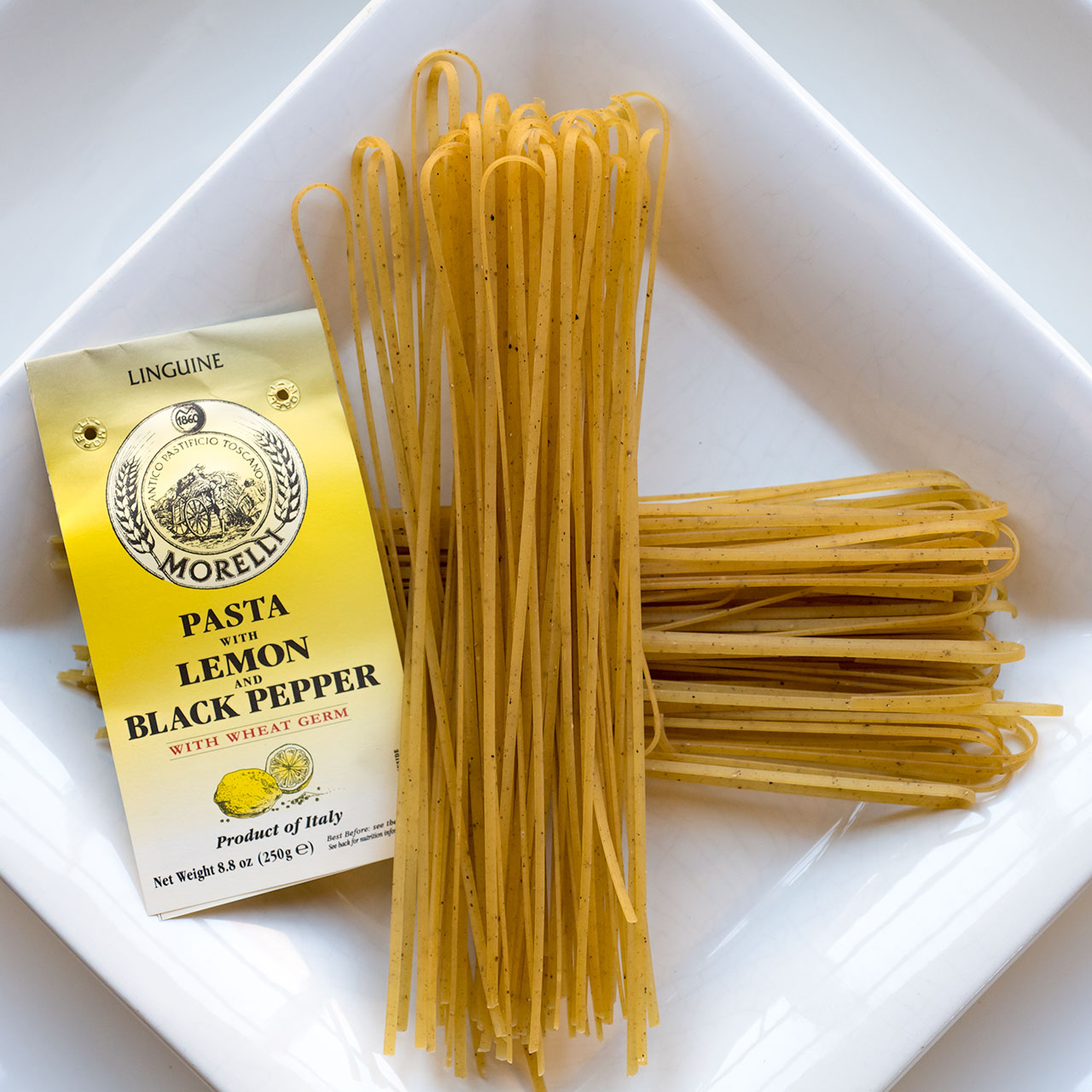 Morelli Pasta w Lemon and Black Pepper