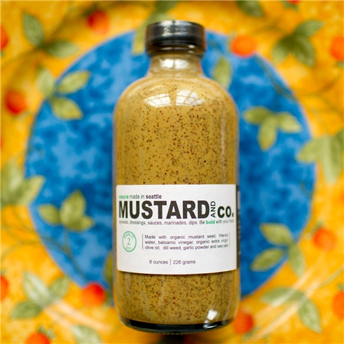 Mustard and Co Garlic Dill Mustard Sauce