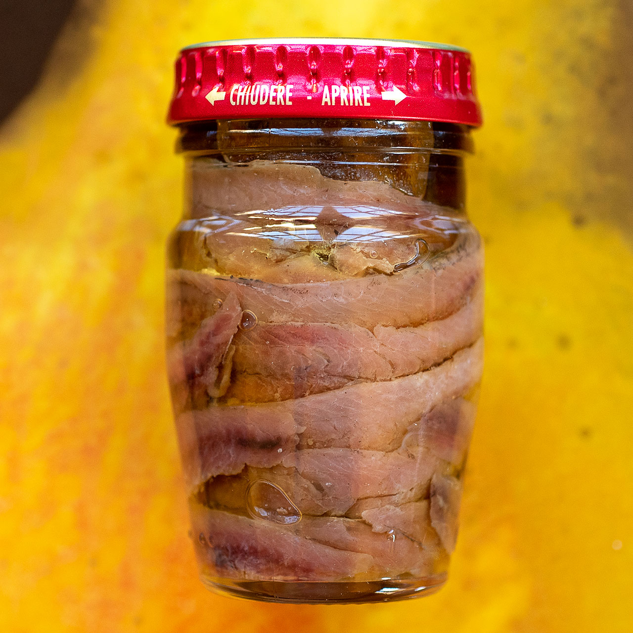 Scalia Anchovy Fillets in Olive Oil - Mason Jar