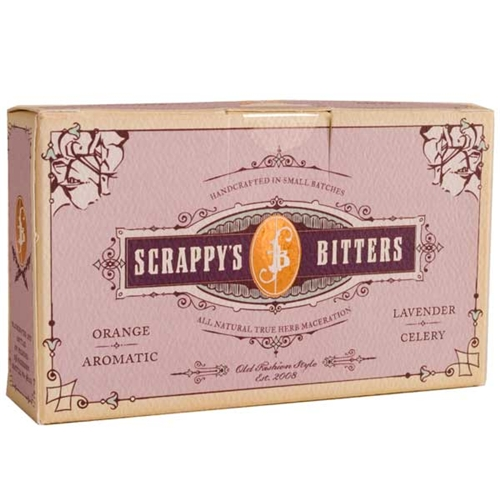 Scrappys Lavender, Aromatic, Celery & Orange Bitters - Sampler Set