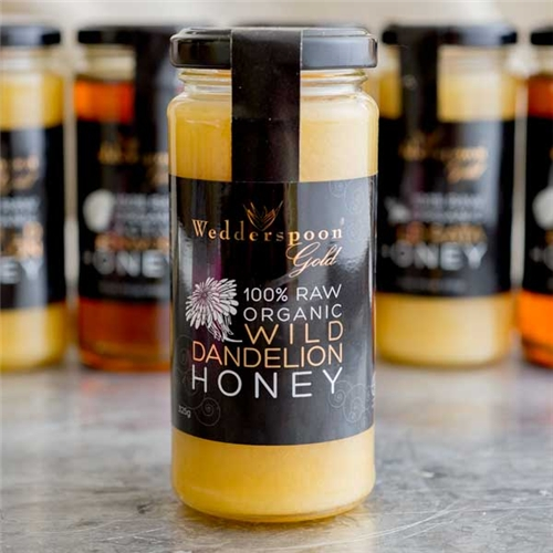 Wedderspoon Organic Dandelion Honey