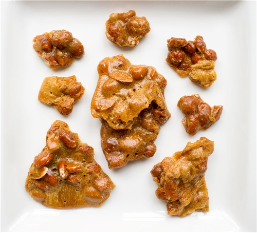 Zingermans Peanut Brittle - 4 oz
