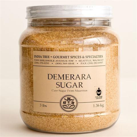 India Tree Demerara Sugar (Mauritius) 3-lb tub